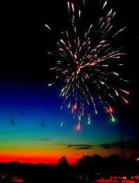 Fireworks in South Dakota!
