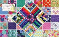 Fabric patchwork - larger