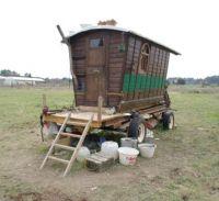 french traveller's own built vardo2