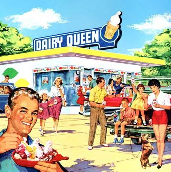 DAIRY QUEEN AD - 1964
