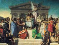 Ingres' The Apotheosis of Homer
