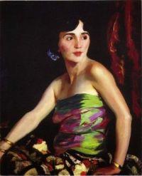 Robert Henri (1865-1929) Isolina Maldonado Spanish Dancer