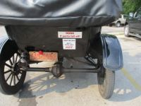 1923 Model T Ford, bumper stickers.  I saved the best for laughs!