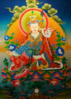 Painting of Padmasambhava (smaller), by Wonderlane on flickr