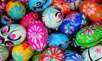 beautiful polish pisanki easter eggs