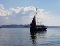 Sailing Barge on Mouth of Tamar