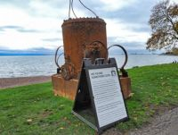 Diving bell discovered in the boathouse at Glensheen