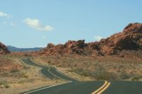 Valley of fire, Nevada, US