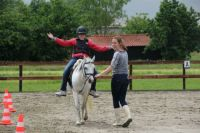 Erik op paard
