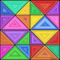 A Rainbow of Triangles (S)
