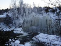 Icy Trees Ausable Chasm