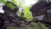 Zkamenělý zámek - Vysočina