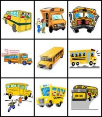 back to school: buses