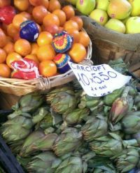 Vegetables and Fruit in Porto Fino