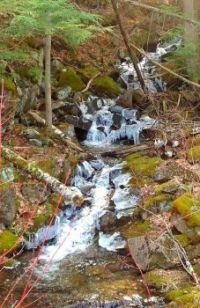 Mountain Creek flowing