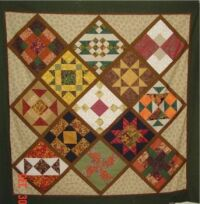 Fall quilt for Klaus