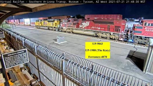 """UP-1988  """"The Kate"""" Tucson,AZ/USA"""