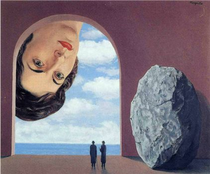 Rene Magritte  Portrait of Stephy Langui  1961