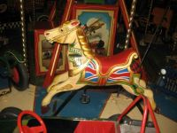 fairground horse at WOMAD