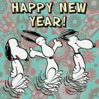 Happy New Year Snoopy