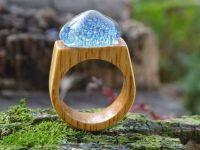Glass & Wood Ring