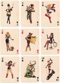 DC Bombshells Playing Cards