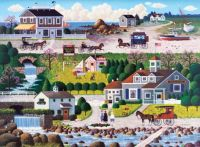 """Cricket Hawk Harbor""-Charles Wysocki"