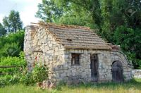 -Ancient-traditional-ukrainian-rural-barn-Kiev-Ukraine-Stock-Photo