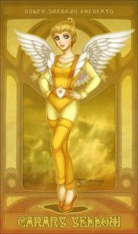 Rainbow Brite Canary Yellow