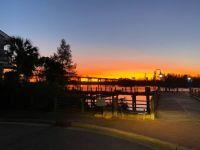 Sunset by the Bridge - Cape Fear River Nov 2020