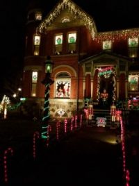 Theme: Things that Sparkle - Marshall's Christmas House