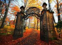 Autumn Gates from Brambleberry Cottage