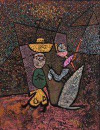 Paul Klee: El circo ambulante, 1940