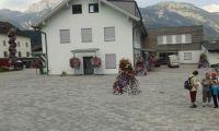 květinová výzdoba v Alpách