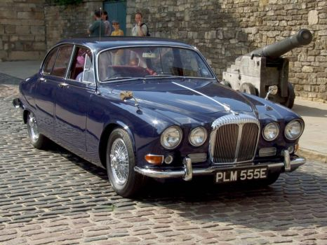 1967 Daimler Sovereign at at Castle Hill, Lincoln, UK - 8th Jun 2008