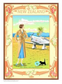 Themes Vintage illustrations/pictures - New Zealand