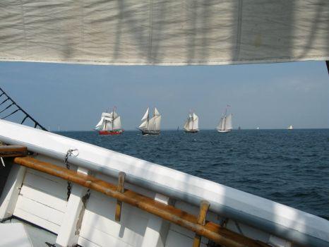 "A view from the regatta ""Fyn Rundt"""