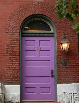 Door & Brick in  DC