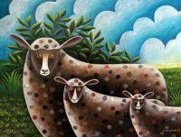 Naive Art - Sheep