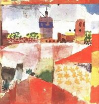 Klee: Hammamet with Mosque
