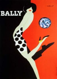 Bernard Villemot Bally Shoes