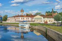 View of Fokin Manufactory in Ivanovo, Russia
