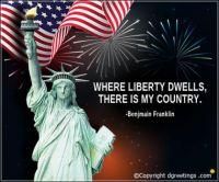 Benjamin Franklin Liberty