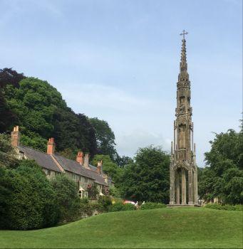 Stourhead Village, Wiltshire, UK