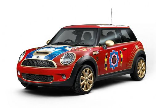 George Harrison Tribute Mini Cooper