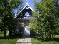 Griswold Church, front door