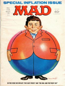 MAD #145--SPECIAL INFLATION ISSUE !
