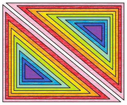 triangle rainbow