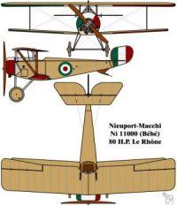 Nieuport-Macchi 11000 (Ni11) French First World War Fighter!!