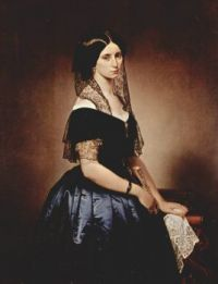 Francesco Hayez  Porträt der Antonietta Tarsis Basilico 1851